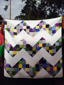 Remember my entry into the Iron Quilter 2 contest?